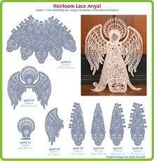 Bobbin made tape laces (braid laces) laceioli.