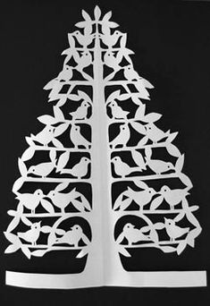 Would love to do a paper cutting of the twelve days of Christmas. It would be awesome.