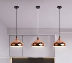 Simig Lighting: The rose gold pendant lamp over the kitchen island combines modern minimalist and stylish elements, which is a highlight of home lighting. It is also ideal for restaurants to create a soft atmosphere. Pendant Lighting Over Dining Table, Chandelier In Living Room, Kitchen Pendant Lighting, Glass Pendant Light, Pendant Lights, Pendant Lamps, Gold Pendant, Rose Gold Lamp, Rose Gold Lights