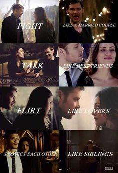 The vampire diaries 778982066774450926 Vampire Diaries The Originals, Klaus The Originals, Vampire Diaries Damon, Vampire Diaries Quotes, Hayley And Klaus, Klaus And Hope, Klaus And Caroline, The Orignals, Old Married Couple