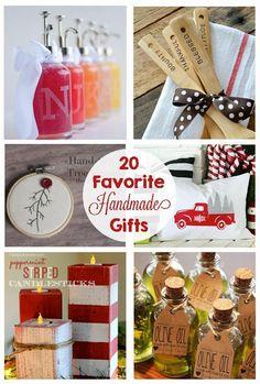 Favorite Handmade Christmas Gifts via @craftingchicks
