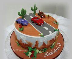 Car Birthday Cake ♡