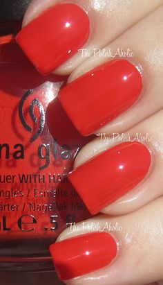Roguish Red is a red orange creme. From Halloween Wicked collection - 2012