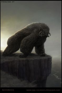 RPG Creatures - a free online Bestiary: The Strength of a Beast