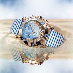 """Happy Beach"" Chronograph Watch | Chopard"
