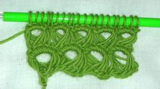 I love this tutorial for Broomstick lace stich.