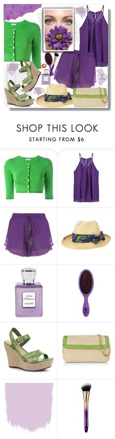 """Purple & Green"" by queenvirgo ❤ liked on Polyvore featuring P.A.R.O.S.H., Keds, Bella Bellissima, The Wet Brush, UGG Australia, Buti and tarte"