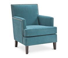 Kendall Fabric Accent Chair, Direct Ship - Chairs & Recliners - Furniture - Macy's
