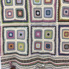 Manta lana y algodón Facebook Tricrochet