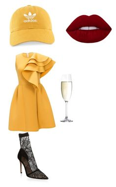 """""""Untitled #6"""" by alexandra-marinela on Polyvore featuring Gianvito Rossi, adidas and Spiegelau"""