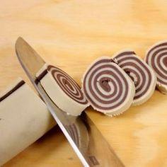 Galletas de espiral