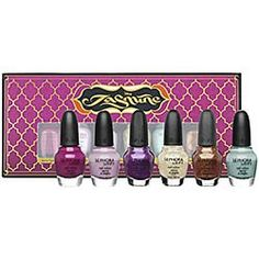 Wedding gift:Disney Jasmine Collection By Sephora One Is Never Enough Nail Set LIMITED EDITION