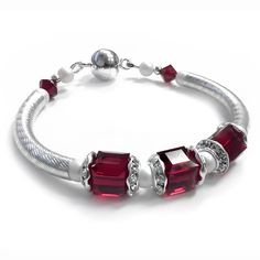 Silver Tube Bracelet Kit