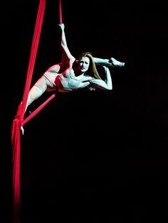 """Cirque du Solei """"Quidam"""" Houston, Texas Photographer: Lynn Lane"""