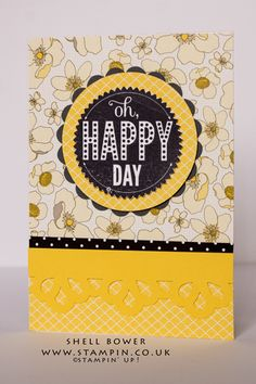 Stampin' Up! paper and card stock ink and stamps and I also used my Brother Scan and Cut to make this card.