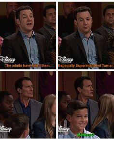 I love how there's just that one kid giving the camera that creepy smile in front of Mr. Funny Love, Really Funny, Funny Kids, Boy Meets World Quotes, Girl Meets World, Disney Memes, Funny Disney, Disney Fun, Stupid Funny Memes