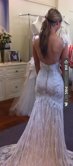 open back lace wedding dress | Wedding Pins! The Best Wedding Picture Ideas! Create Your Wedding Picture List Today!