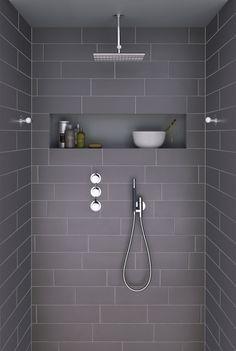 Idée pour un banc pour la douche de la salle de bain   Salle de ...
