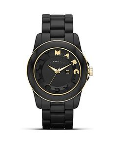 MARC BY MARC JACOBS Dreamy Black Watch, 42.5mm - All Watches - Watches - Jewelry & Accessories - Bloomingdale's #aquarocks