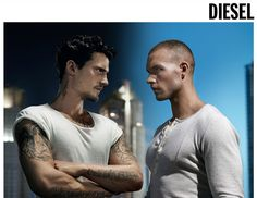 DIESEL only the brave fragrance Be Brave Tattoo, Tattoos Gallery, Mans World, Man Candy, Tattoo Models, Diesel, Fragrance, My Love, People