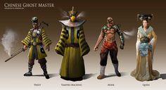 Chinese Steampunk Character Design   https://www.facebook.com/kowerallen http://kowerallen.deviantart.com/ http://drawcrowd.com/kowerallen http://kowerallen.artstation.com/  #tankokloon #thebrushtool #digitalart #cg