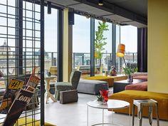 der Dachboden im 25hours Hotel Wien - Beim Museumquartier