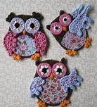 Free Crochet Pattern Owl Applique - Bing Images