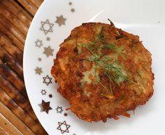 Fennel-Potato Latkes