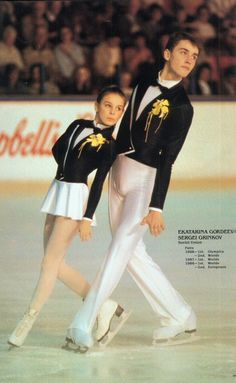 Katia Gordeeva and Sergei Grinkov.I love watching ice skating. Please check out my website Thanks.  www.photopix.co.nz