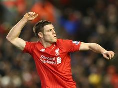 Liverpool midfielder James Milner is reportedly a fitness doubt for tomorrow's Europa League first leg against Manchester United at Anfield. Liverpool Football Club, Liverpool Fc, Liverpool England, James Milner, This Is Anfield, Hull City, Barclay Premier League, Soccer News