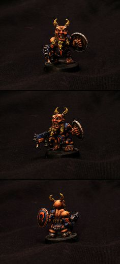 Hod's Space Boars WIP (Space Wolves made from Tir-Na-Bor Dwarfs) - Page 2