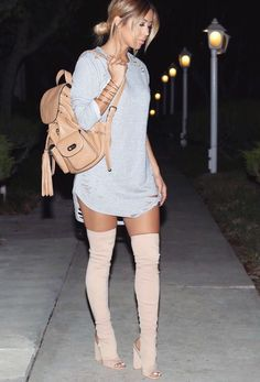 c32dc13f962 High heels with style Thigh High Boots Dress