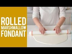 How to Make Rolled Marshmallow Fondant Recipe - YouTube