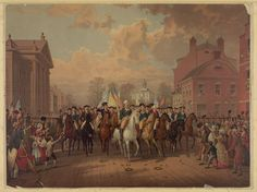 Following the American Revolutionary War, Evacuation Day on November 25 marks the day in 1783 when the last vestige of British authority in the United States — its troops in New York — departed from Manhattan. After this British evacuation, General George Washington triumphantly led the Continental Army through the city.