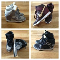 These high dunk Nike wedges sneakers are worth the buy! X