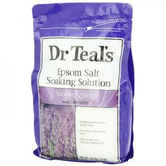 Epsom Salts: this old-fashioned treatment is tried-and-true for a reason -- it works!