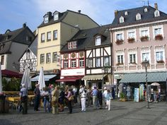 Boppard Square, Germany...... First stop in Germany..... so pretty!