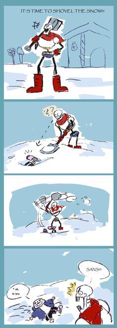 Snow shoveling by KuudesSilma
