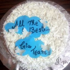 convocation ceremony cake - for GIA - By I'm