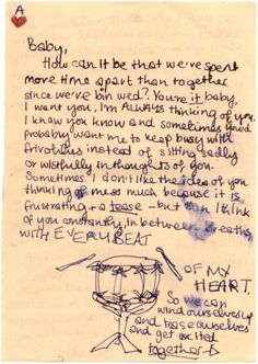 WINEHOUSE AMY: (1983-2011) English Singer. An extremely rare love letter to her husband Blake Fielder-Civil ('Baby'). : Lot 213