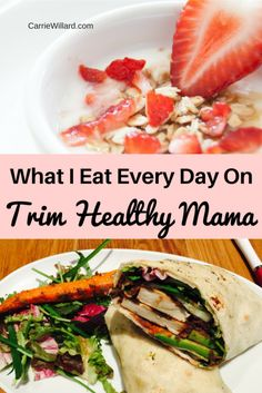 What I Eat Every Day on Trim Healthy Mama