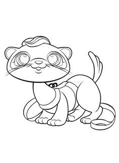 coloring page Littlest Pet Shop - Littlest Pet Shop