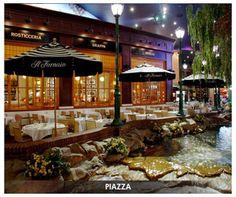 Il Fornaio at New York, New York in Las Vegas. Looks like a cute Italian restaurant.