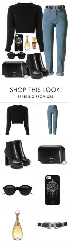 """Sans titre #714"" by charliesclothes ❤ liked on Polyvore featuring Helmut Lang, Hogan, Givenchy, Fifth & Ninth, Christian Dior, Topshop and Yves Saint Laurent"