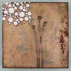 Jenn Bell- Copper enamel