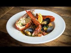 Kerry Altiero, chef and owner of Cafe Miranda in Rockland, Maine, won Maine's Lobster Chef of the Year title in 2012. In this video Chef Altiero shows us how to make lobster paella, which he also calls Maine Wedding Special.