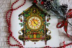 Johanna Basford  Johanna's Christmas-Cuckoo Clock