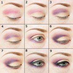 Make It All Up: Emma Stone inspired tutorial using Sleek Vintage Romance palette