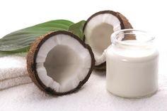 Les cheveux de Mini: Cure de coco pour la pousse des cheveux.