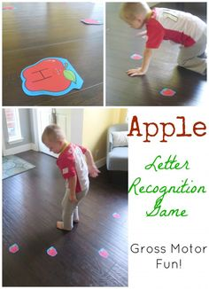 Letter Recognition Apple Game